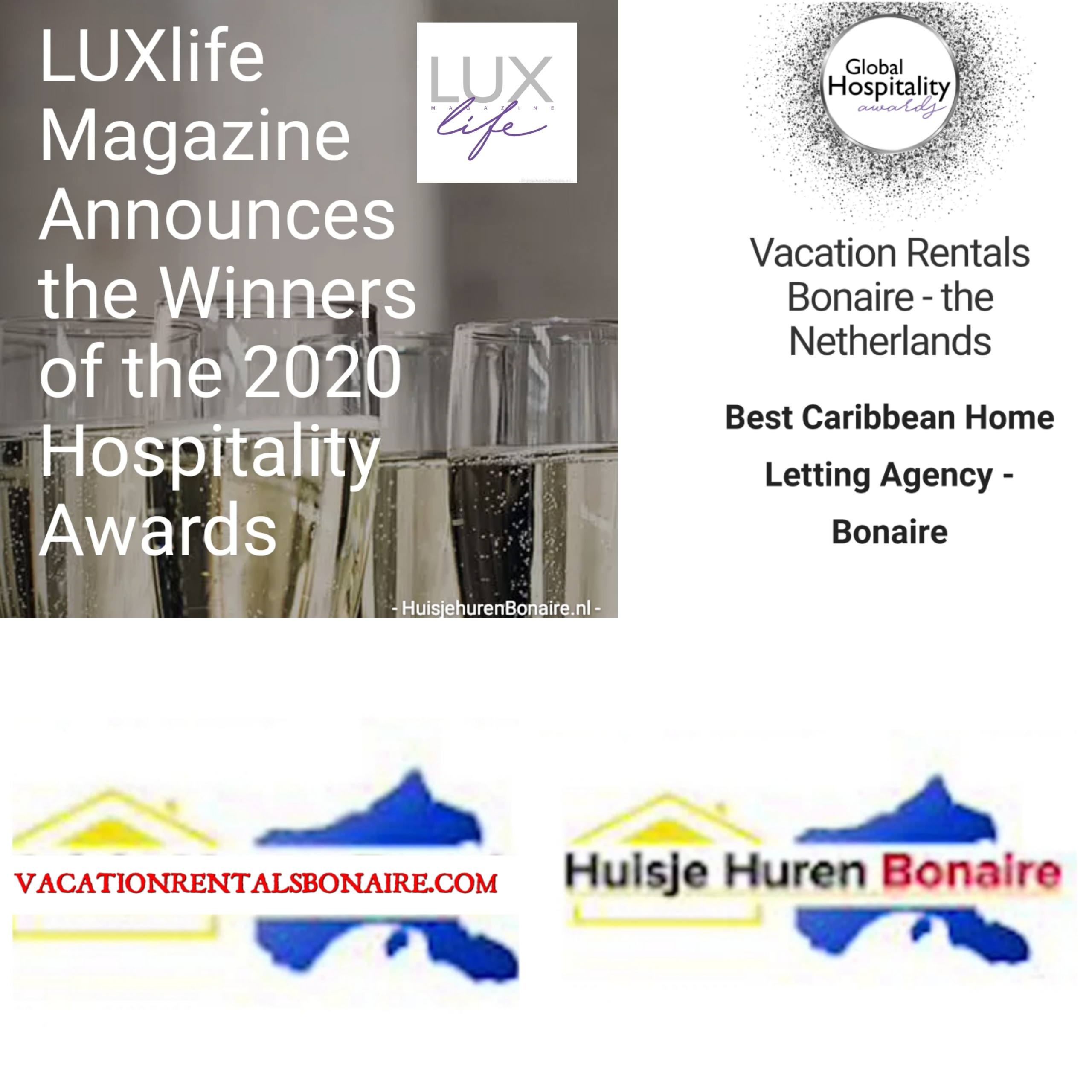 Luxlife Award Best Caribbean Home Letting Agency 2020