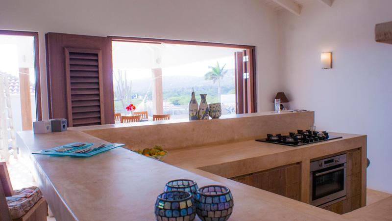 keuken vakantiehuis Bonaire