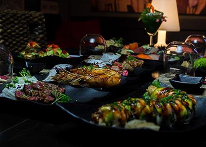 Sushi & Teppan Yaki